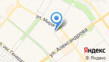 KNK на карте