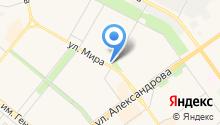 Банкомат, АКБ Национальный залоговый банк на карте