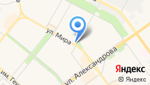 Аквадизайн на карте