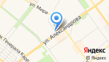 Бэд-кафе на карте