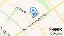 Волжская Багетка на карте