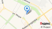 Архив городского округа на карте