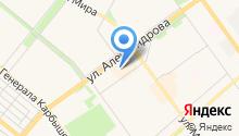 Волга-Ключ на карте