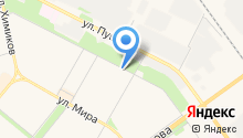 Баня на Пушкина на карте