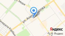 Артемида на карте