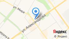Алладин-Тур на карте