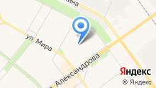 Автошкола, ВОА, Всероссийское общество автомобилистов на карте