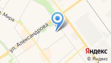 Волгоградский областной детский санаторий на карте