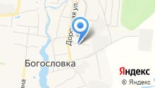 Гидростройка на карте