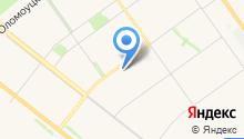 Автостоянка на ул. 87 Гвардейской Дивизии на карте