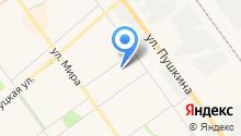 Волжский детский дом на карте