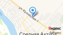Продуктовый магазин на ул. Микрорайон на карте