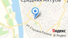 Отделение пенсионного фонда РФ по Волгоградской области на карте