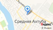 Среднеахтубинская средняя общеобразовательная школа №1 на карте