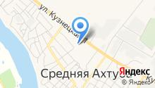 Среднеахтубинский центр социального обслуживания населения на карте