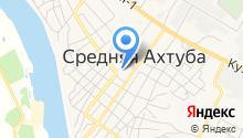 Центр социальной защиты населения по Среднеахтубинскому району на карте