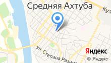 Среднеахтубинское лесничество, ГКУ на карте