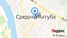 Среднеахтубинская ДЮСШ на карте