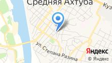 Администрация городского поселения р.п. Средняя Ахтуба на карте