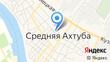 Отдел МВД России по Среднеахтубинскому району на карте