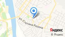 Отдел вневедомственной охраны при УВД Среднеахтубинского района на карте