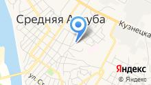 Среднеахтубинская районная станция по борьбе с болезнями животных на карте