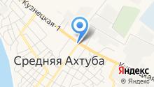 Продуктовый магазин на Октябрьской на карте