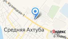 Отдел ГИБДД Отдела МВД России по Среднеахтубинскому району на карте