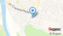 Среднеахтубинская средняя общеобразовательная школа №3 им. М. Горького на карте