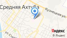 Среднеахтубинская центральная районная больница на карте