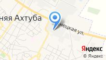АХТУБА, ЗАО на карте