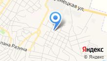 Среднеахтубинская специальная (коррекционная) общеобразовательная школа-интернат VIII вида на карте