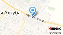 Среднеахтубинский комбинат строительных материалов и конструкций на карте