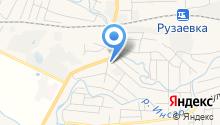 Центр занятости населения Рузаевского района на карте