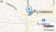 Рузаевская гимназия №1 на карте
