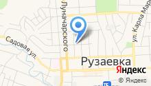 Отдел судебных приставов по Рузаевскому району на карте