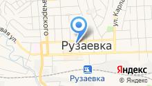 Рузаевская городская телесеть на карте
