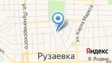 Центр военно-патриотического воспитания молодежи регионального отделения ДОСААФ России республики Мордовия на карте