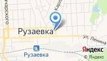 Отдел МВД РФ по Рузаевскому району на карте