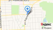 Новоселов на карте