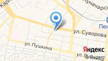 Ягодка на карте