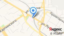 Пензенская областная станция скорой медицинской помощи, ГБУЗ на карте