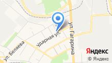 Детская музыкальная школа г. Пензы им. В.П. Чеха, МАУ ДОД на карте