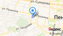 Tazik сlub на карте