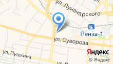 ЖТК на карте