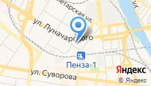 EVO-mobile на карте
