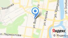 Пензенская городская организация профсоюза работников народного образования и науки на карте