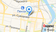 Paprika на карте