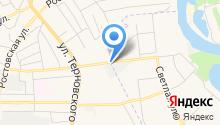 Автостеклоф на карте