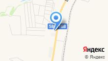 Бессоновский на карте